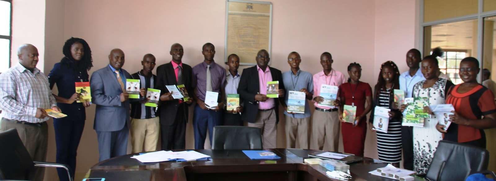 Technical Centre for Agricultural and Rural Cooperation Donates Materials to Kibabii University