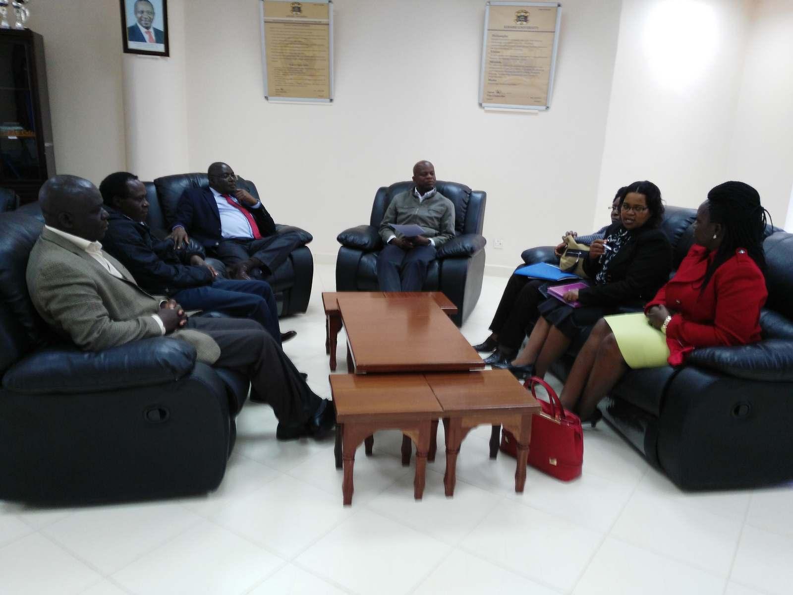 Officers from Kenya National Commission for UNESCO Visit Kibabii University