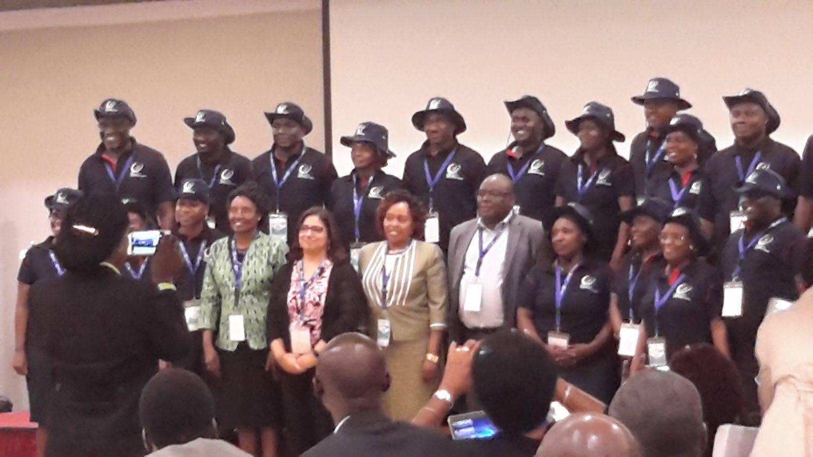 Kibabii University Vice Chancellor and Director of PC and QA in Kigali Rwanda
