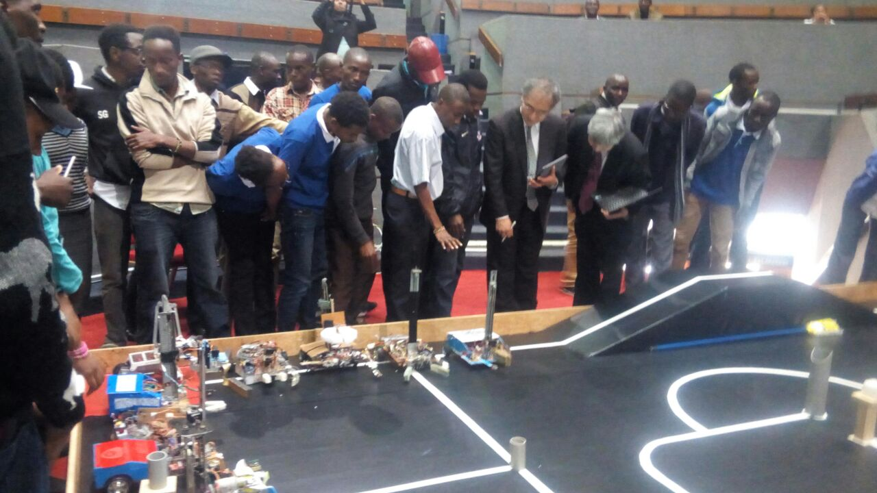 Kibabii University Robotics Team Participate in the Kenya's 7th National Science Week
