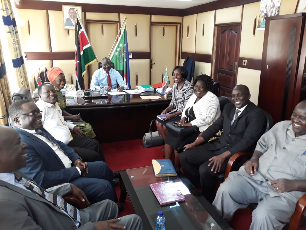 Kibabii University Visit H.E Governor of Bungoma County