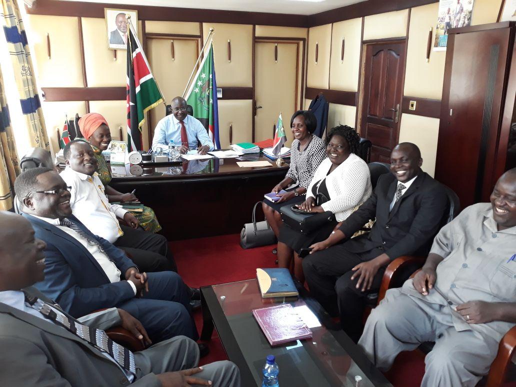 Kibabii University visit H.E Governor of Bungoma County