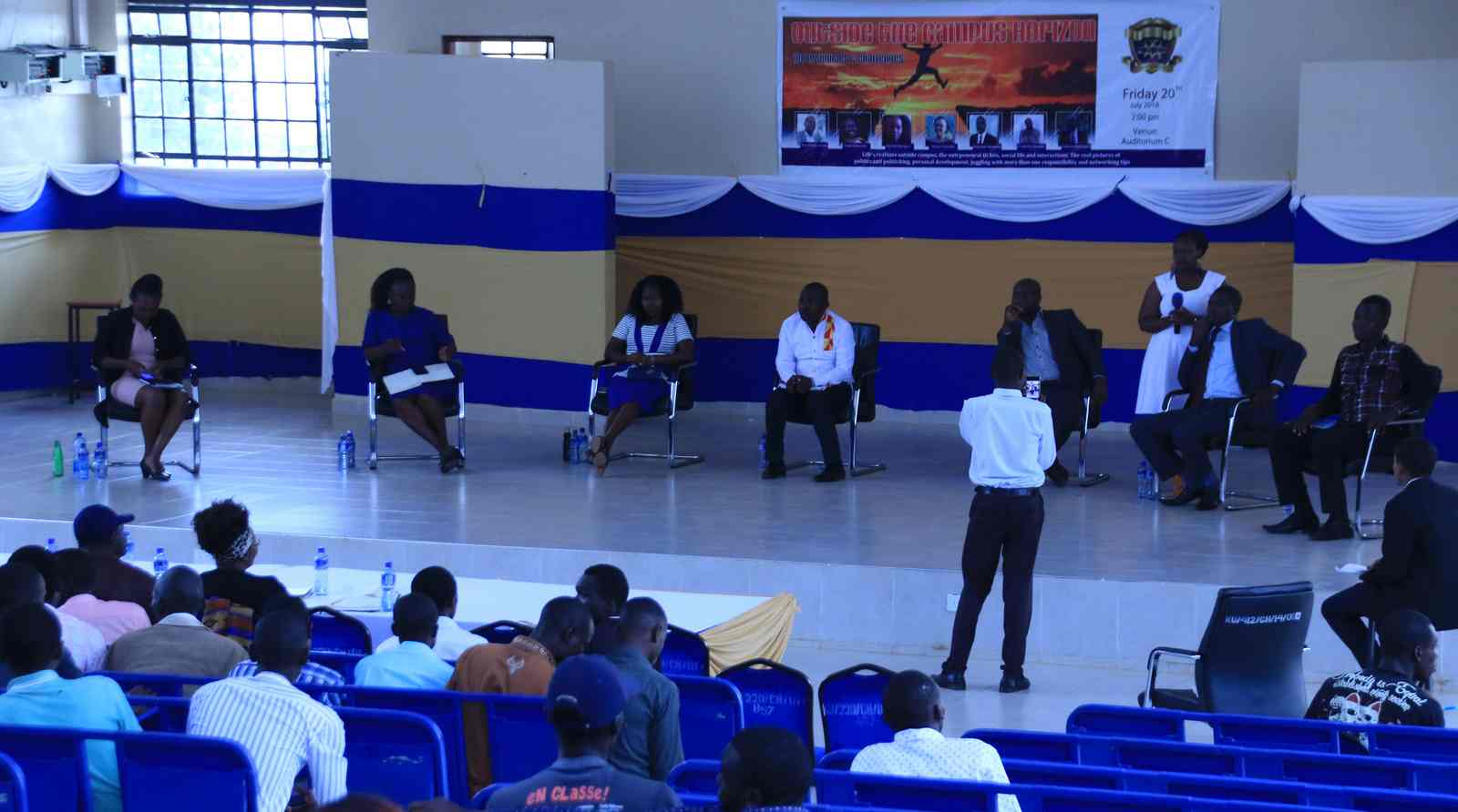Motivational Talk: Beyond the Campus Horizon, Challenges and Opportunities