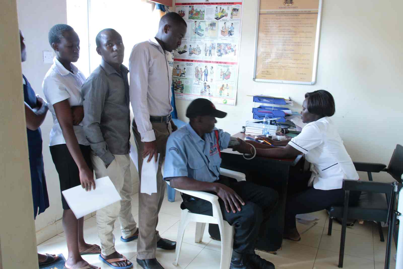 Successful Free Medical Service by Kibabii University and Red Cross