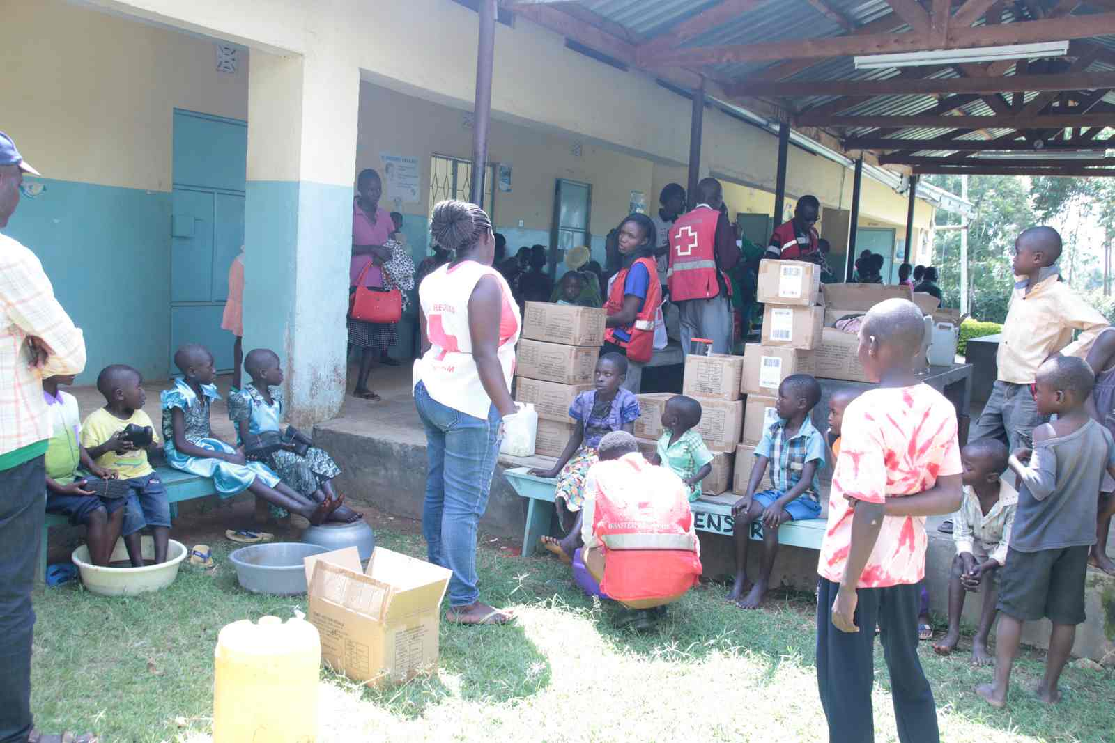Successful Free Medical Service by Kibabii University and Red Cross 1 2