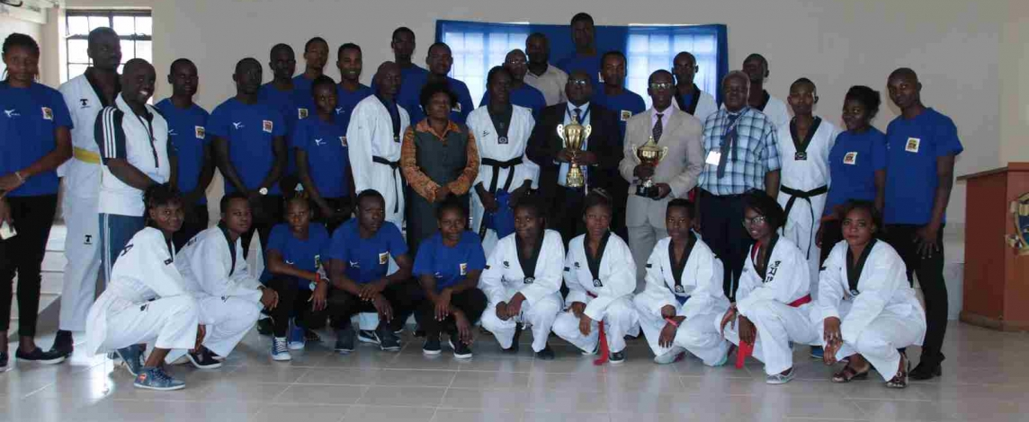 Vice Chancellor Breakfast Meeting with Taekwondo Team