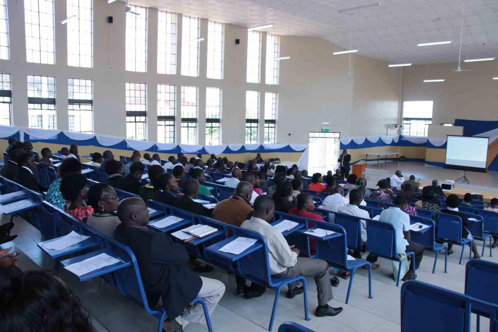 Kibabii University Staff Induction Meeting