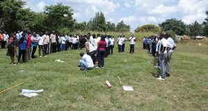 Kibabii University Staff in Team Building Exercise1