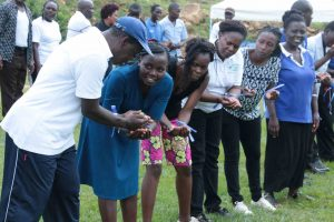 Kibabii University Staff in Team Building Exercise2