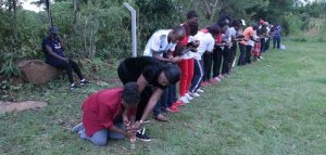 Kibabii University Staff in Team Building Exercise3