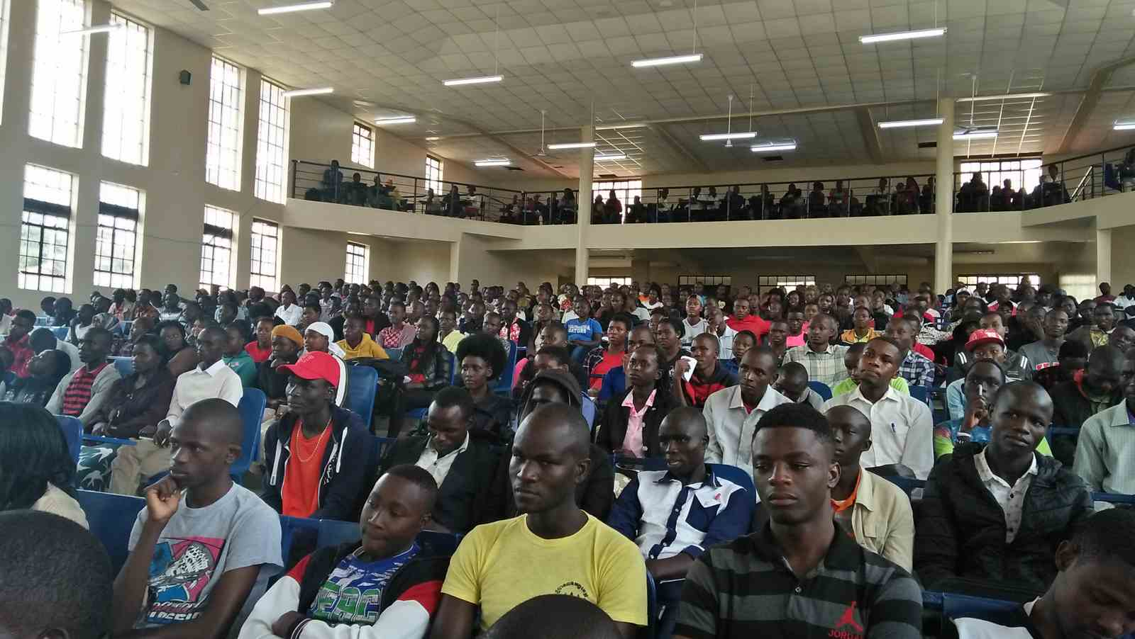 2018/2019 First Year Students' Orientation to Academic Affairs Department