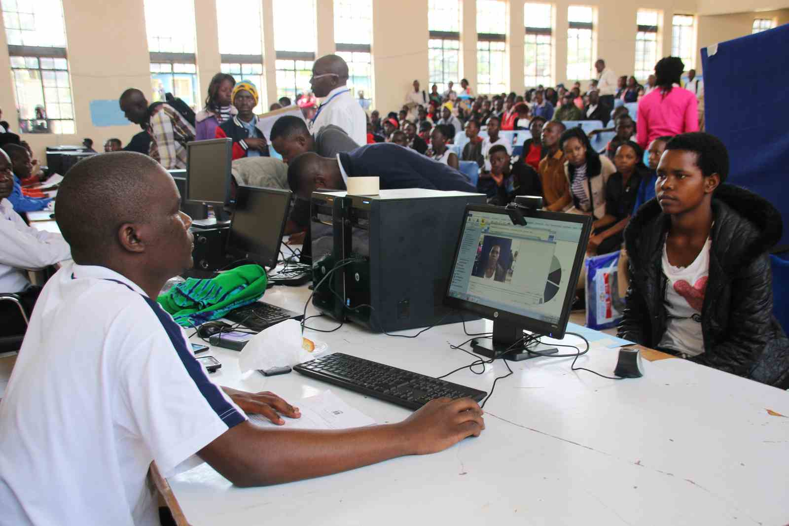 Kibabii University Begins Biometric Registration of Students