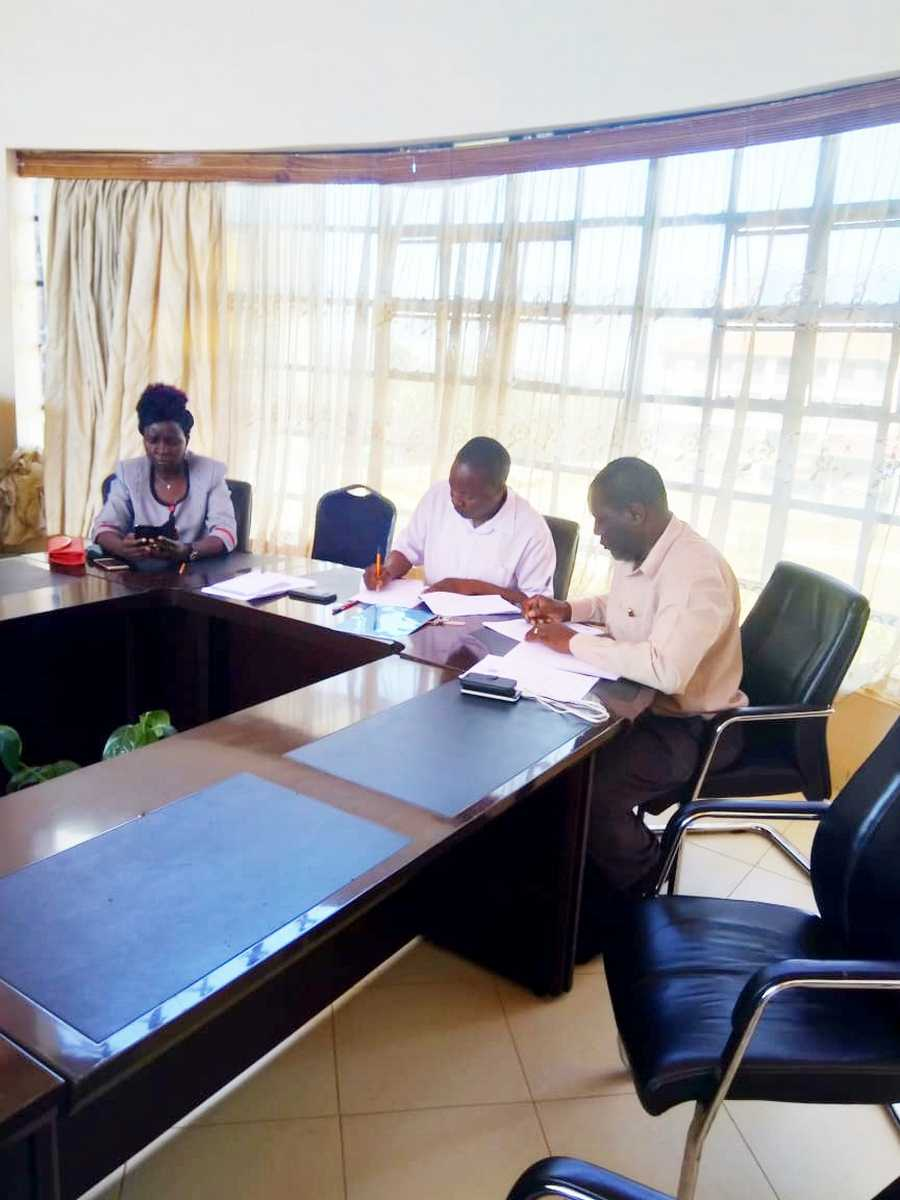 Cascading of Performance Contract for 2018/2019 FY