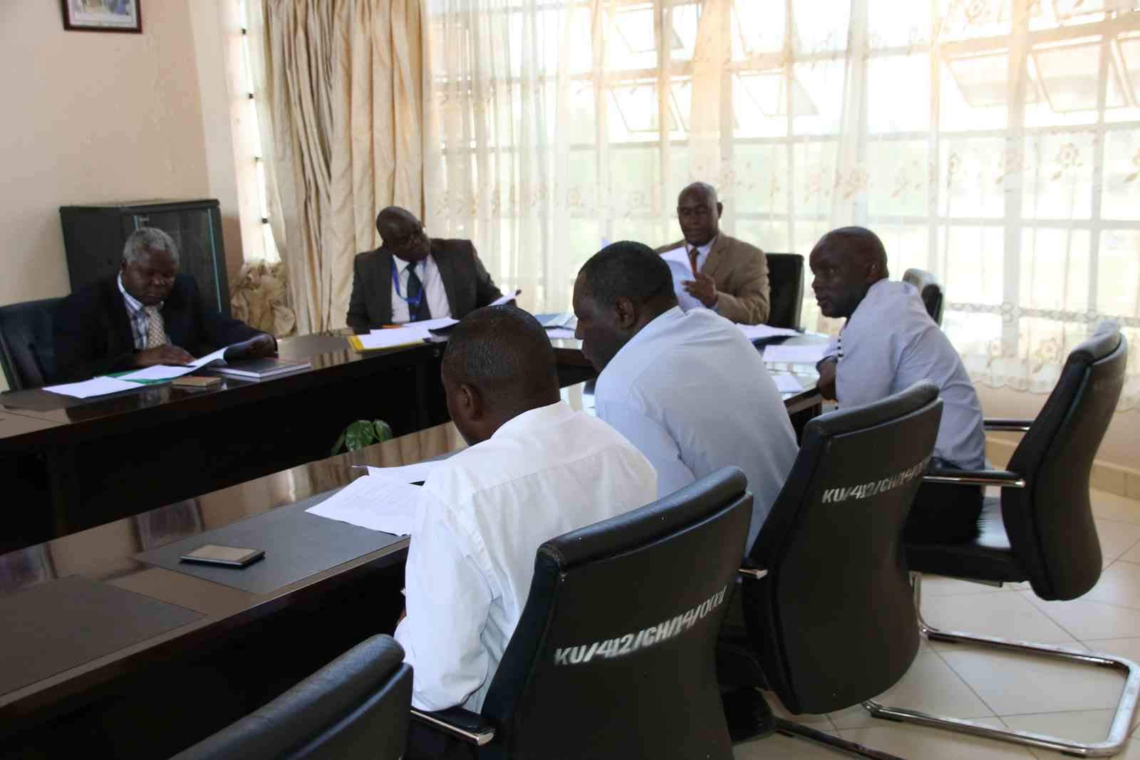 Cascading of Performance Contract for 2018/2019 FY between VC and DVCs
