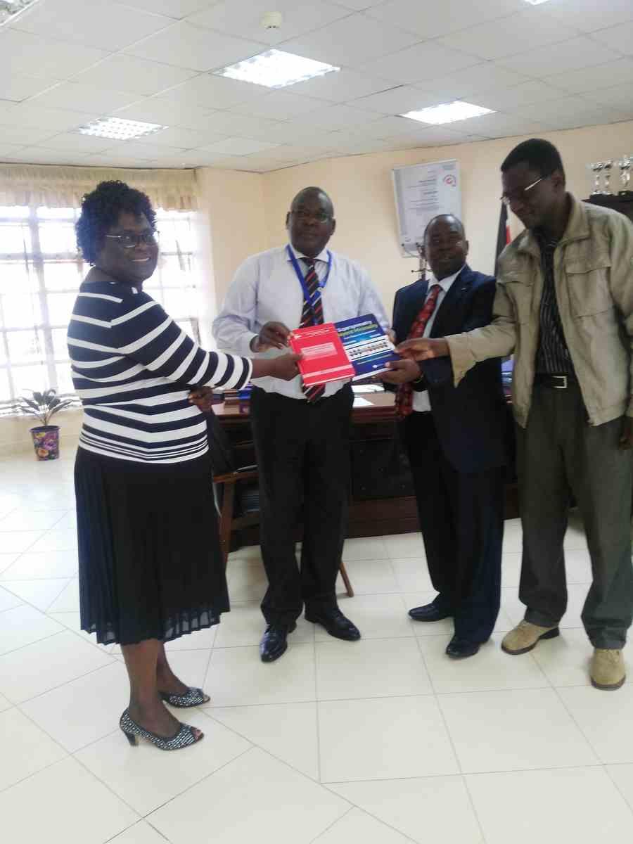 ICTP Donate Books to Kibabii University