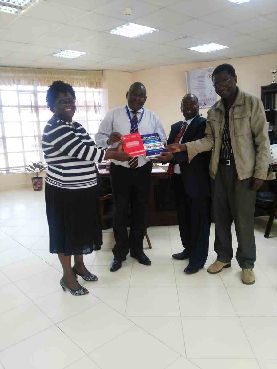 ICTP Donate Books to Kibabii University