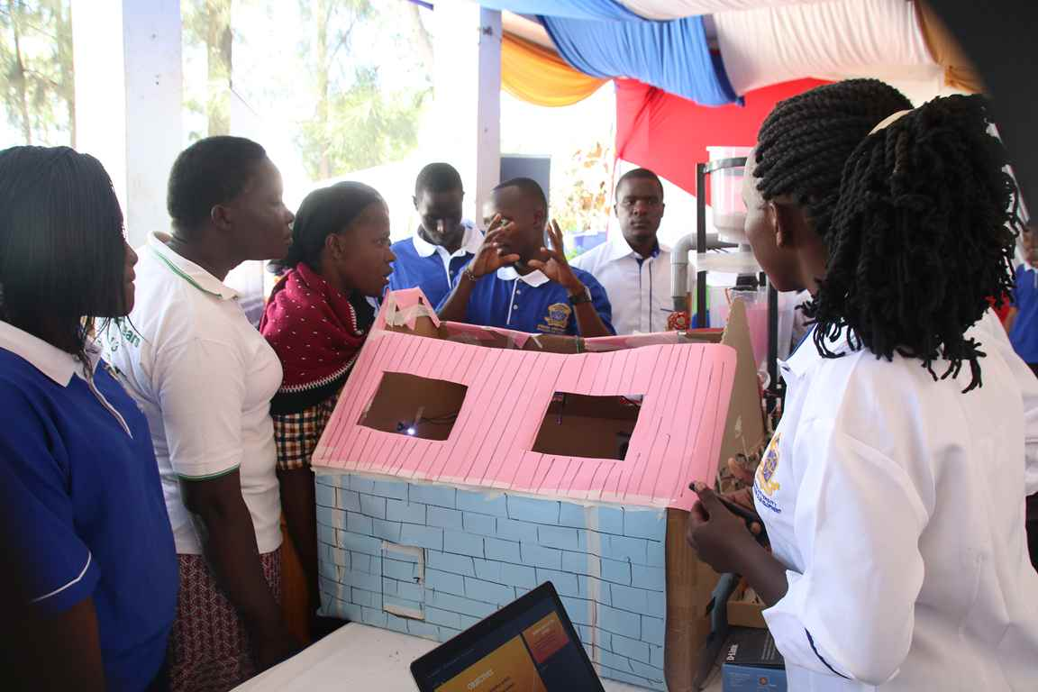 Kibabii University Students Participate in the Bungoma A.S.K Satellite Show 2018