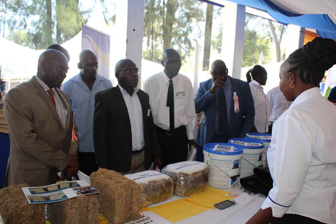 Showcasing Silage and Hay Blocking Technology at the Bungoma A.S.K Satellite Show 2018