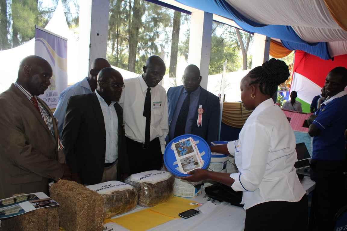Kibabii University at Bungoma A.S.K Satellite Show 2018