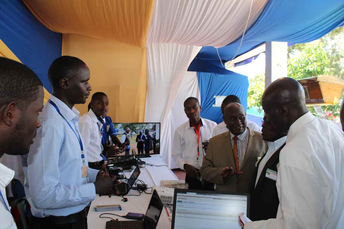 ICT Directorate Represented at the Bungoma A.S.K Satellite Show 2018