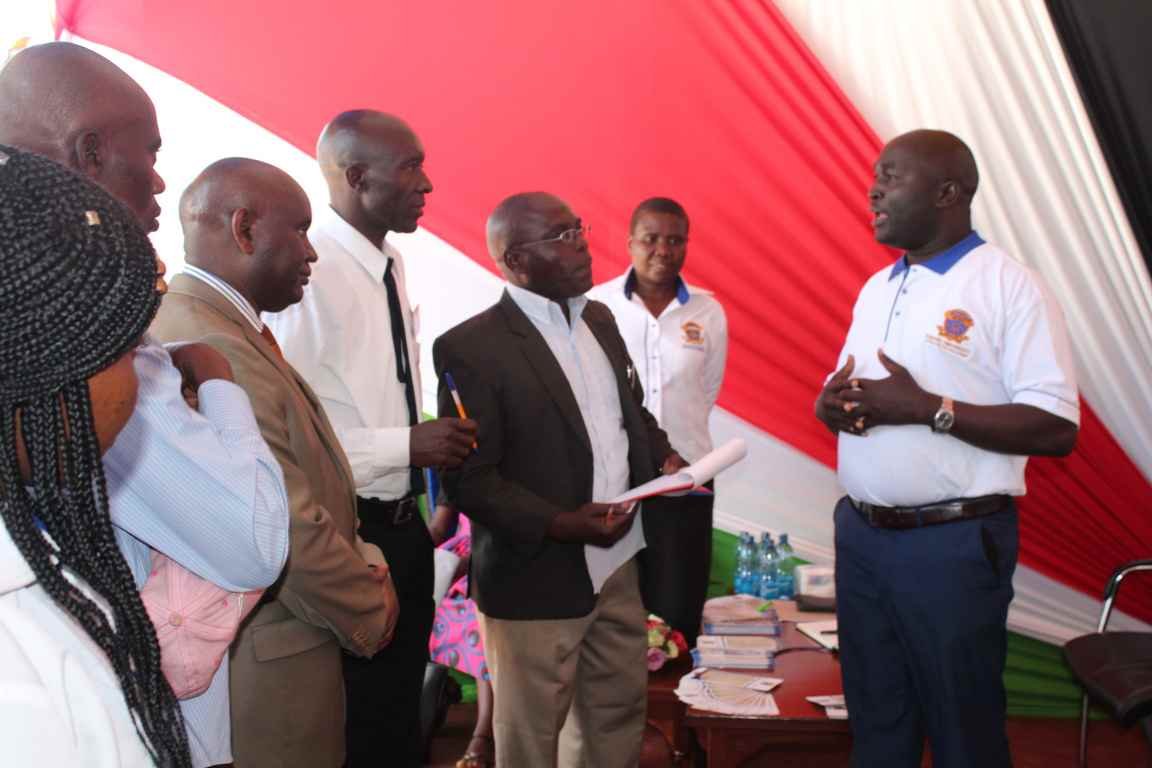 Showcasing Origin & Development of Kibu at the Bungoma A.S.K Satellite Show 2018