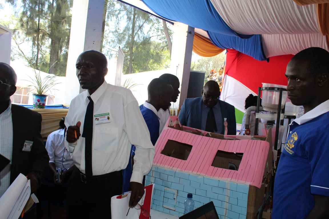Showcasing Automated Poultry House at the Bungoma A.S.K Satellite Show 2018