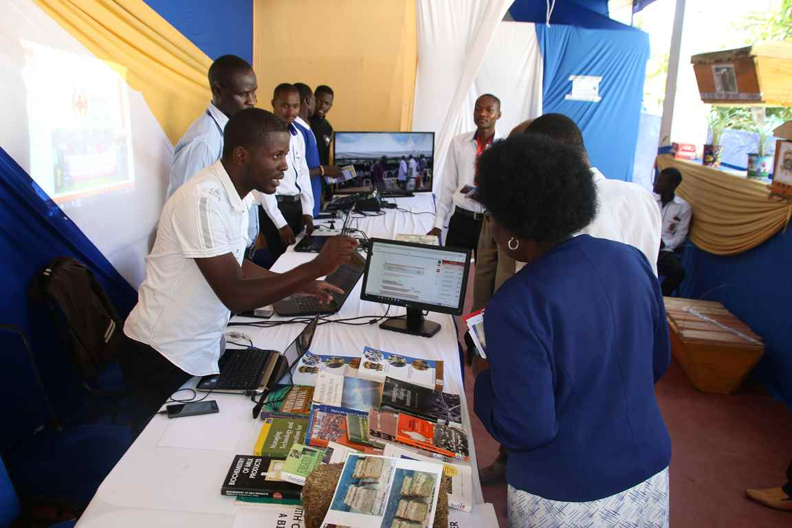 Library Department Represented at the Bungoma A.S.K Satellite Show 2018