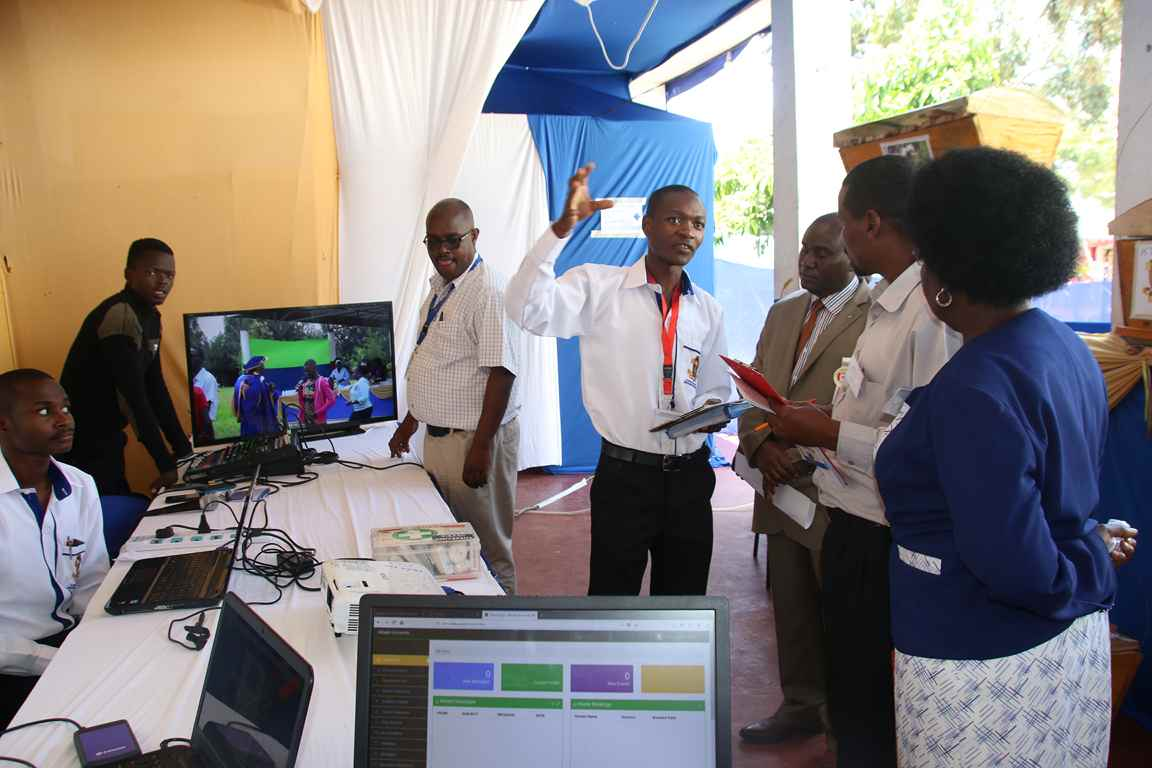Showcasing Redcross Outreach Activities at the Bungoma A.S.K Satellite Show 2018
