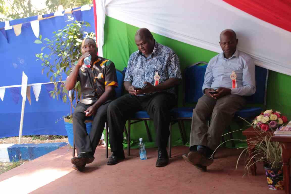 Visitors to Kibabii University Bungoma A.S.K Satellite Show 2018 Stand