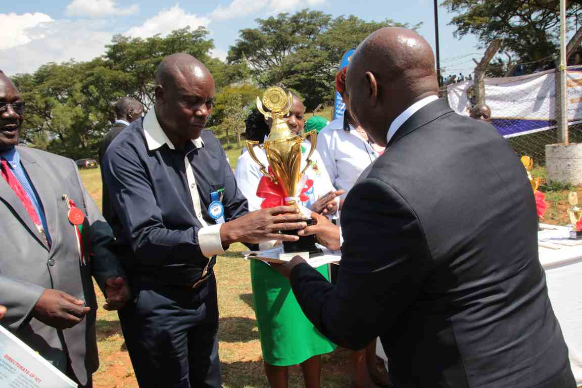 Kibabii University Received Awards at Bungoma A.S.K Satellite Show 2018
