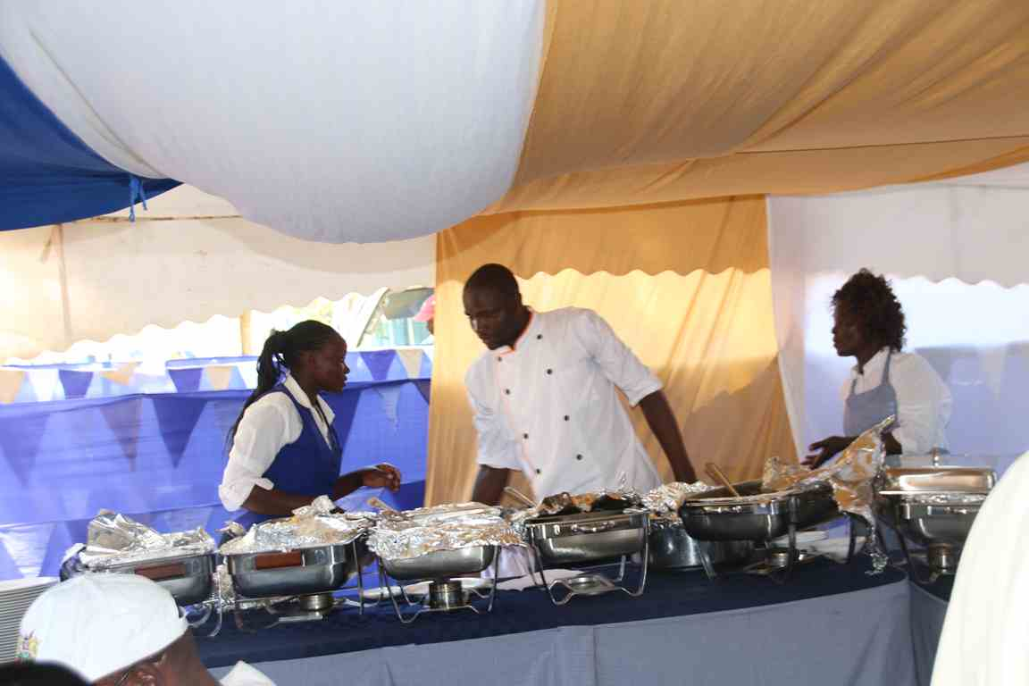 Catering Department Represented at the Bungoma A.S.K Satellite Show 2018