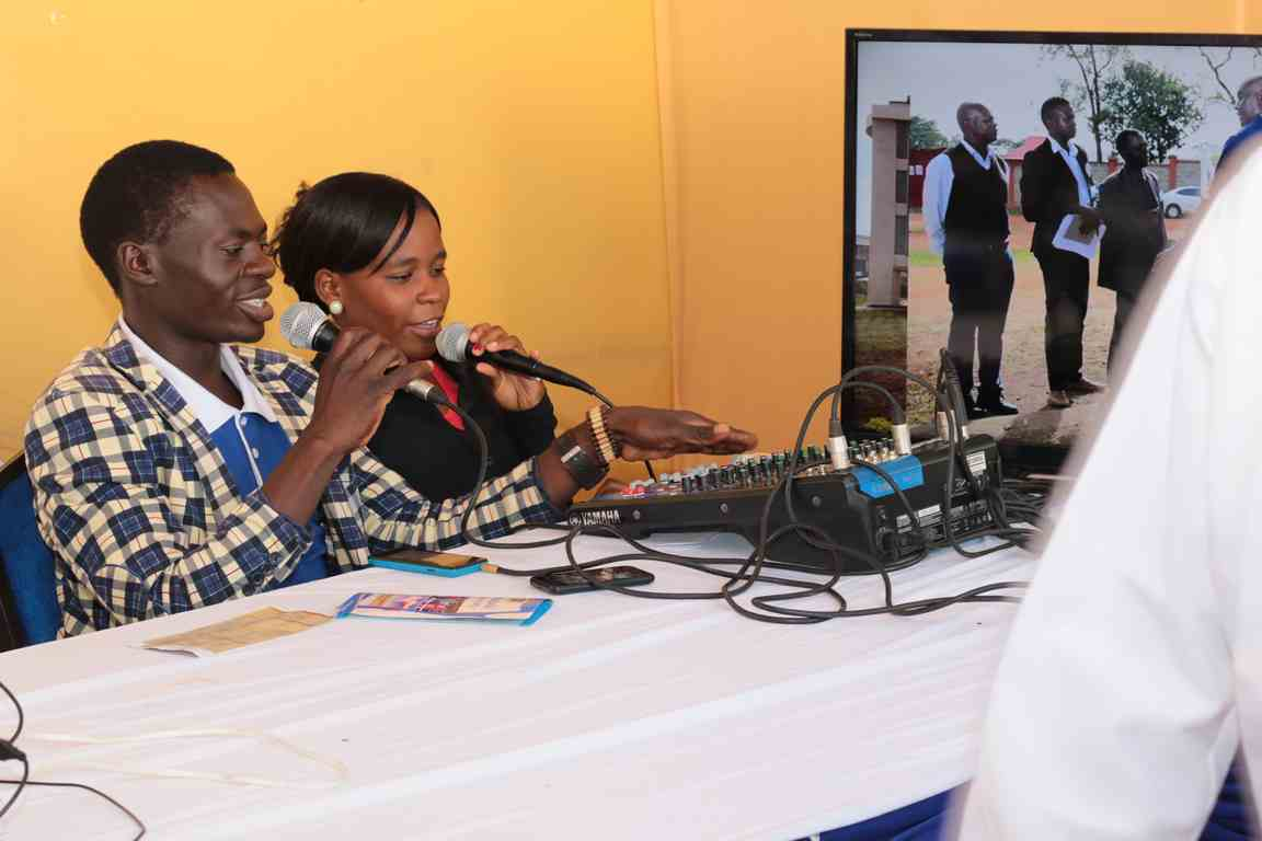 Showcasing Media Gallery and it's Equipment at the Bungoma A.S.K Satellite Show 2018