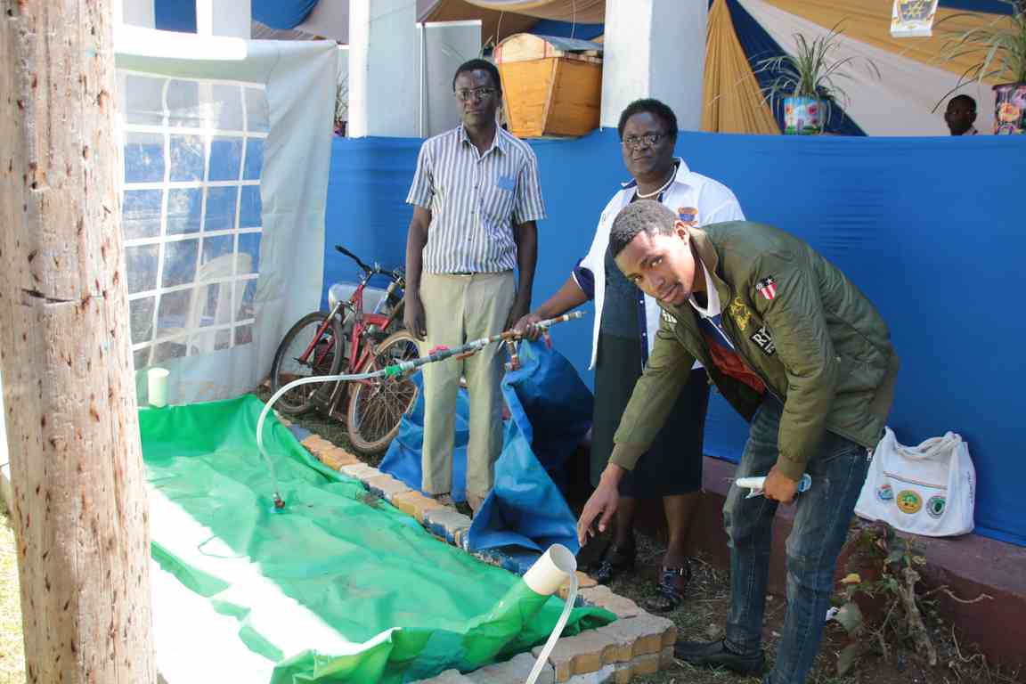 Showcasing Biogas Plant at the Bungoma A.S.K Satellite Show 2018