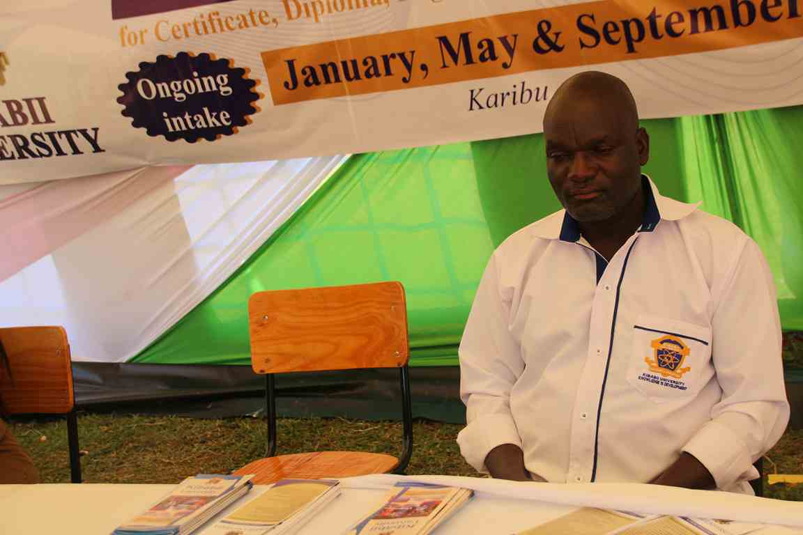 Academic Affairs Department Represented at the Bungoma A.S.K Satellite Show 2018