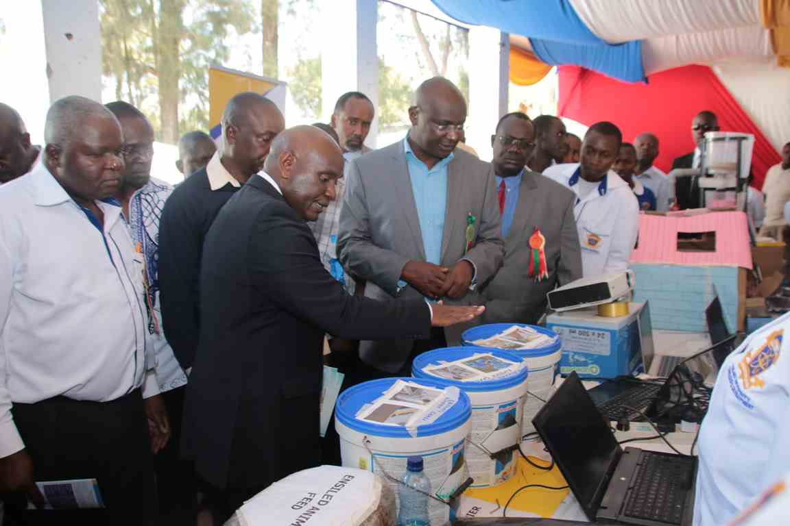 Visitors to Kibabii University Bungoma A.S.K Satellite Show 2018 Stand