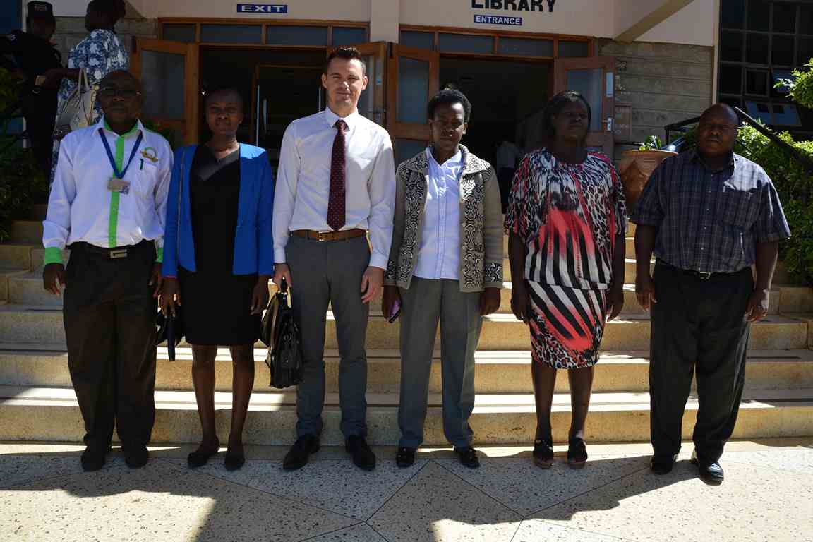 Malory International Limited visit to the University Library