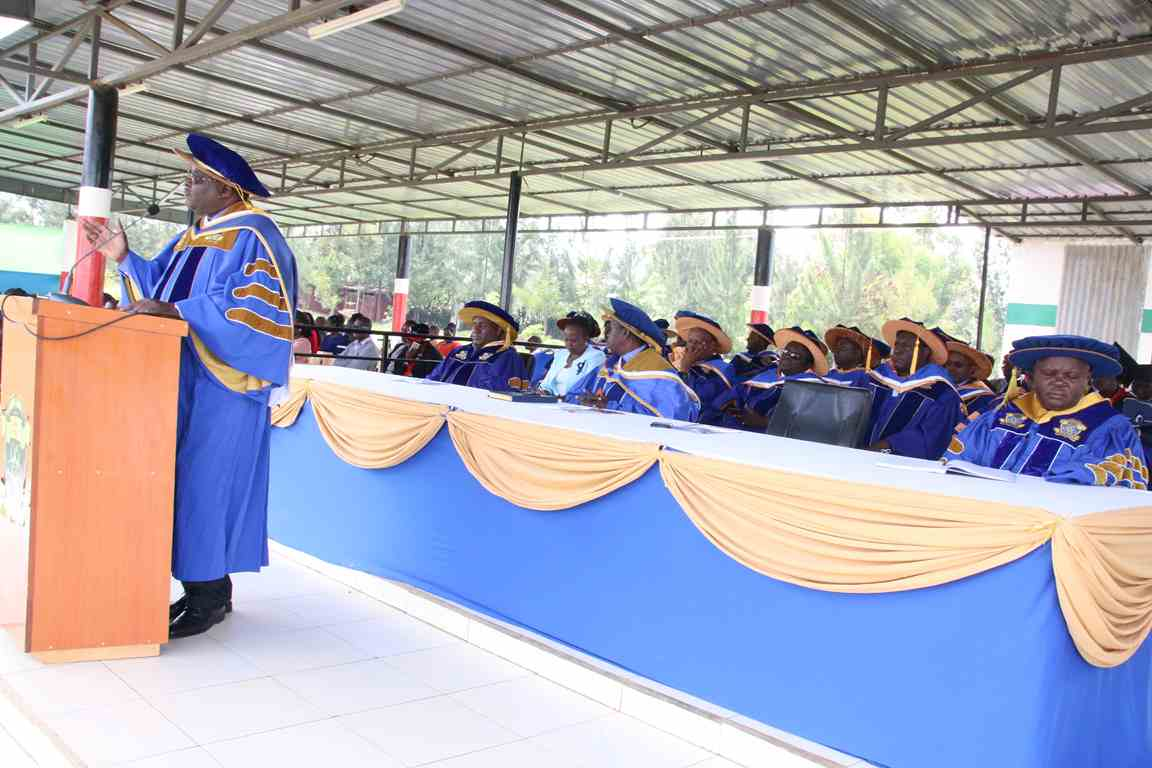 Dean School of Computing & Informatics at Vice Chancellor Address to New Students 2018/2019
