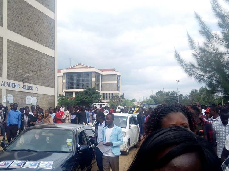 1st Students Organization of Kibabii University Electoral College Campaigns