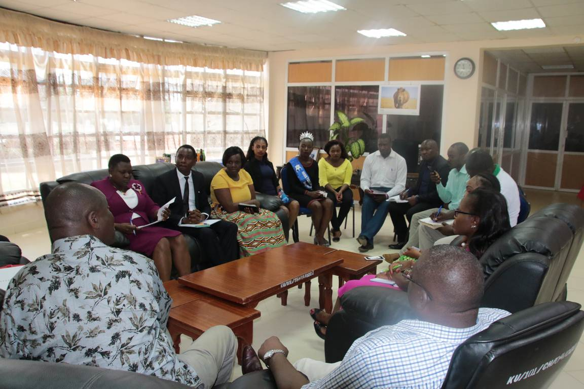 Courtesy Call to the Vice Chancellor on Nurturing Talents among the Youth in the Performing Arts