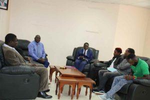 Eric Omondi Pays Courtesy Call to the Vice Chancellor10