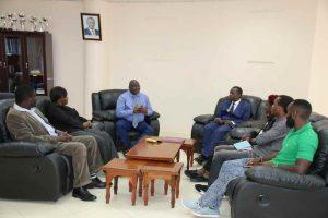 Eric Omondi Pays Courtesy Call to the Vice Chancellor11