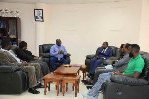 Eric Omondi Pays Courtesy Call to the Vice Chancellor12