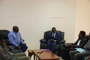 Eric Omondi Pays Courtesy Call to the Vice Chancellor20