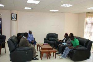 Eric Omondi Pays Courtesy Call to the Vice Chancellor3