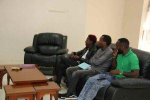 Eric Omondi Pays Courtesy Call to the Vice Chancellor4