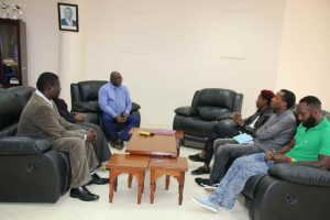 Eric Omondi Pays Courtesy Call to the Vice Chancellor5