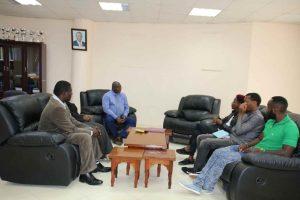 Eric Omondi Pays Courtesy Call to the Vice Chancellor6