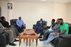 Eric Omondi Pays Courtesy Call to the Vice Chancellor8