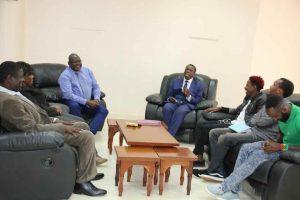 Eric Omondi Pays Courtesy Call to the Vice Chancellor9