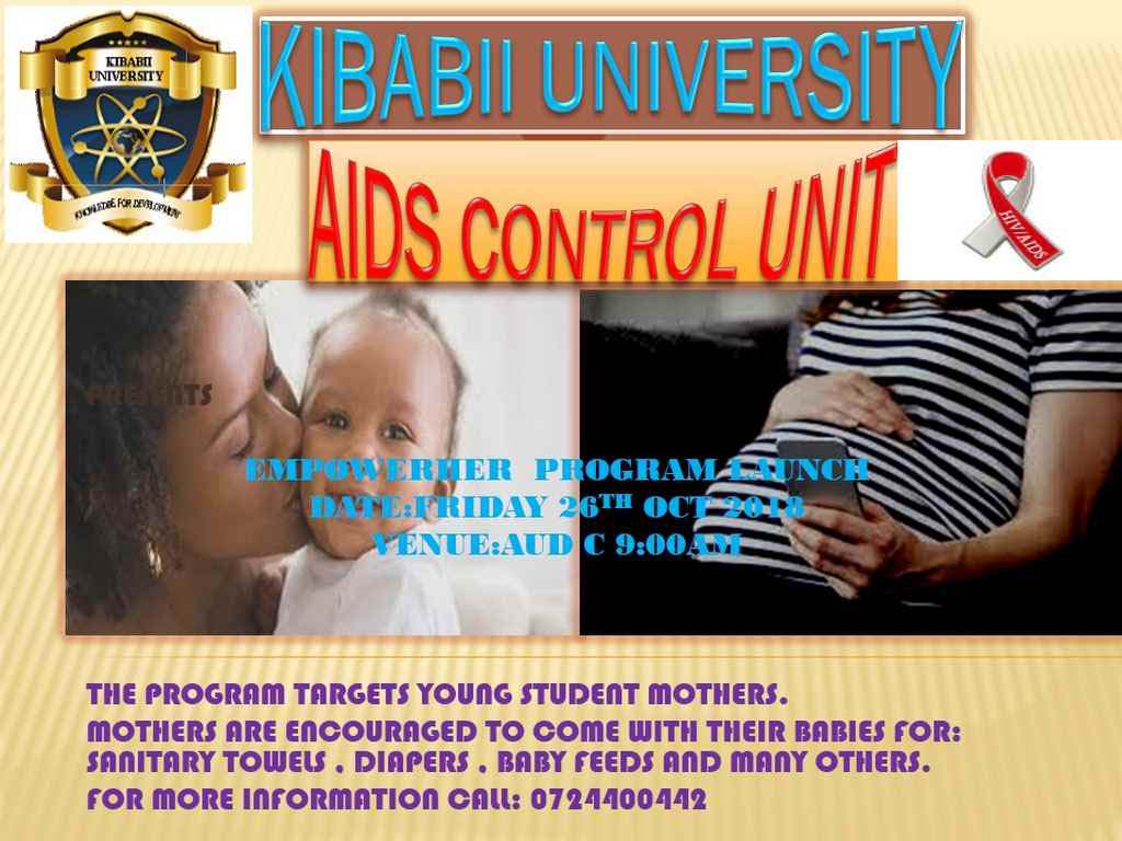 KIBU ACU Empowerment Program to Young Mothers